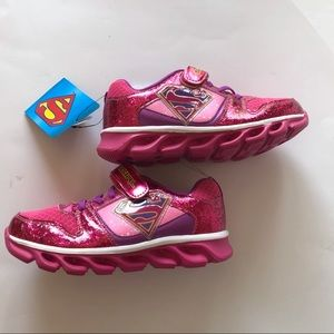 Supergirl LED Sneakers Pink Size 1/3 NWT